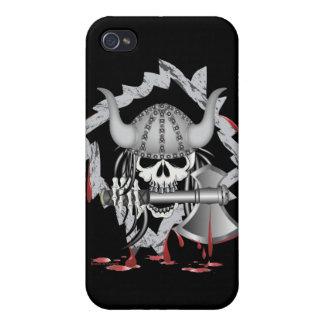 Viking Skull Case For iPhone 4