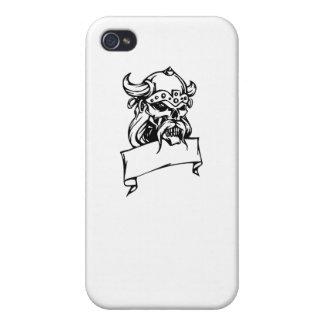 Viking Skull iPhone 4/4S Covers