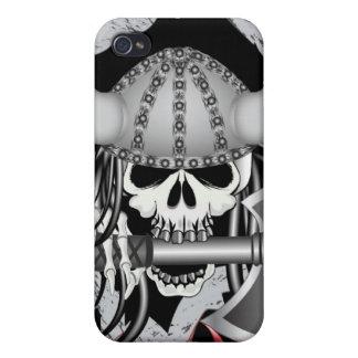 Viking Skull iPhone 4 Cover