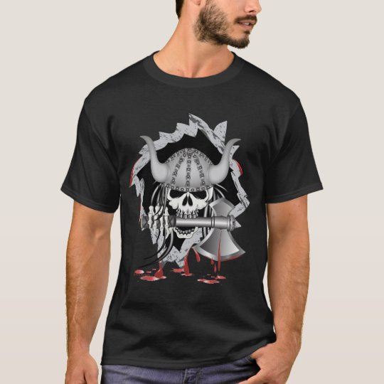 Viking Skull T-Shirt