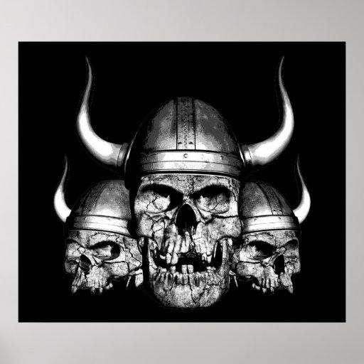 Viking Skulls Posters