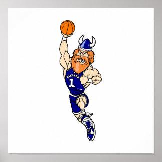 viking slam dunk poster