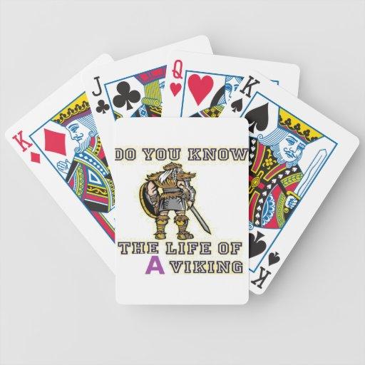 viking stuff deck of cards