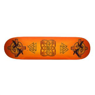 Viking Sunrise Skateboard