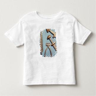 Viking swords, stirrup and spearhead toddler t-shirt