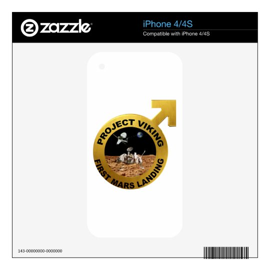 Viking: The First Landing on Mars! Decals For The iPhone 4