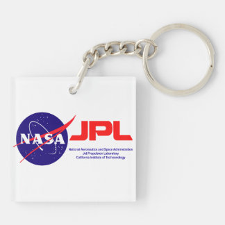 Viking: The First Landing on Mars! Double-Sided Square Acrylic Keychain