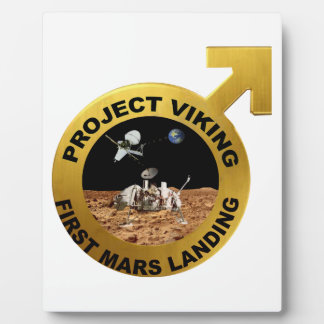 Viking: The First Landing on Mars! Plaque
