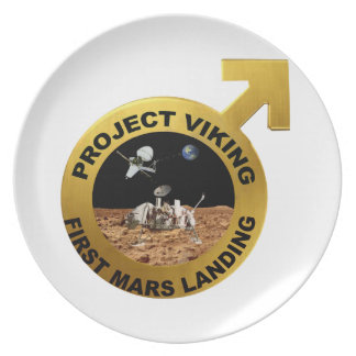 Viking: The First Landing on Mars! Plate