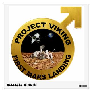 Viking: The First Landing on Mars! Wall Sticker