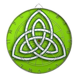 viking tribal celtic knot dartboards