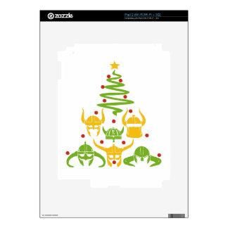 Viking Valhalla Christmas Tree Decal For iPad 2