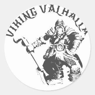 Viking Valhalla - Design 7 Classic Round Sticker