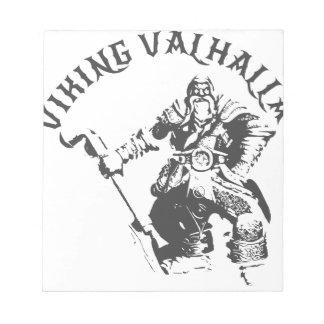 Viking Valhalla - Design 7 Notepad