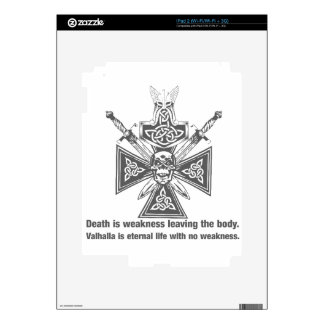 Viking Valhalla - Weakness Leaving The Body iPad 2 Decals