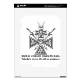 Viking Valhalla - Weakness Leaving The Body iPad 3 Skins