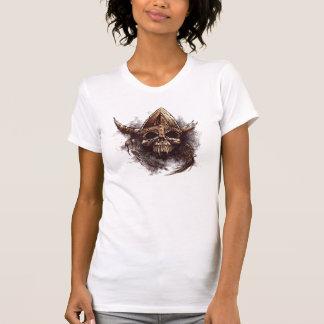 Viking Vampire Skull Tee Shirt