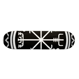 Viking Vegvisir Nautical Compass Skateboard