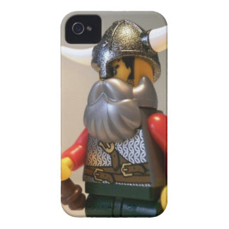 Viking Warrior Custom Minifigure with Battle Axe Case-Mate iPhone 4 Case