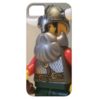 Viking Warrior Custom Minifigure with Battle Axe iPhone SE/5/5s Case