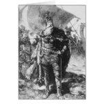 Viking Warrior Greeting Card