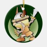 Viking Warrior Ornament