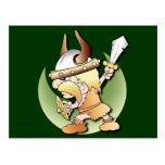 Viking Warrior Postcards