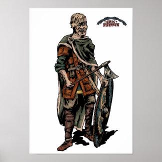 Viking warrior poster