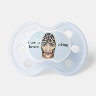 Viking Warrior - realism painting Pacifier