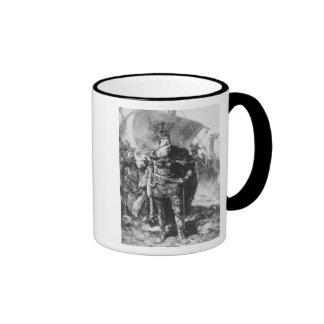 Viking Warrior Ringer Coffee Mug