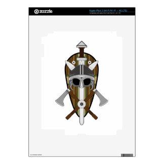 Viking Warrior Shield Decal For iPad 3