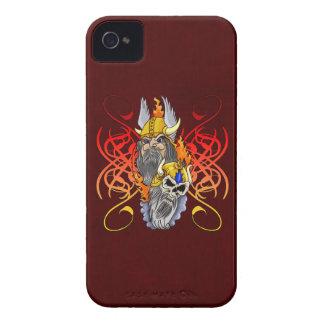 Viking Warrior Tattoo iPhone 4 Case-Mate Cases