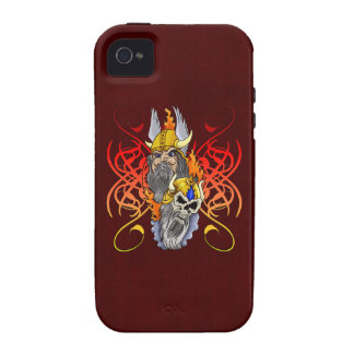 Viking Warrior Tattoo Case-Mate iPhone 4 Cover