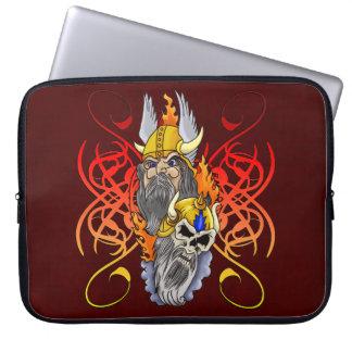 Viking Warrior Tattoo Laptop Computer Sleeve