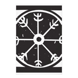 Viking wheel symbol stationery