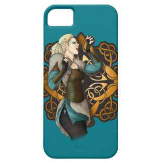 Viking Woman Warrior iPhone SE/5/5s Case