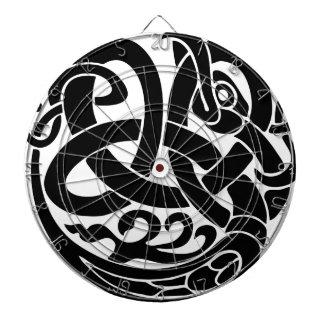 viking world serpent world eater Jormungandr Dartboard