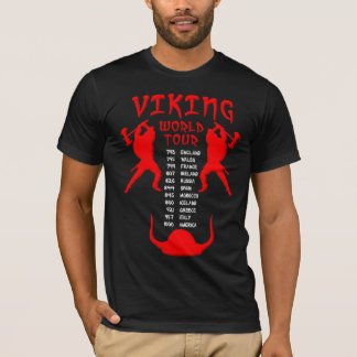 Viking World Tour Shirt Front