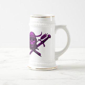 ¡Vikingos para la cerveza!!! Taza de cerveza diver