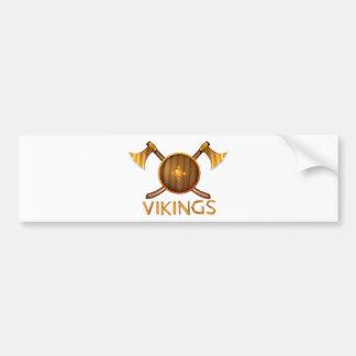 Vikingos Pegatina Para Auto