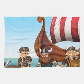 Vikingos Toalla