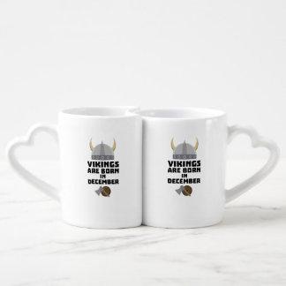 Vikings are born in December Zzun4 Coffee Mug Set