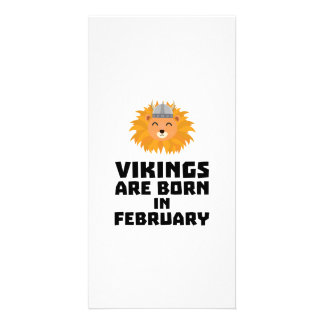 Vikings are born in February Z2htp Card