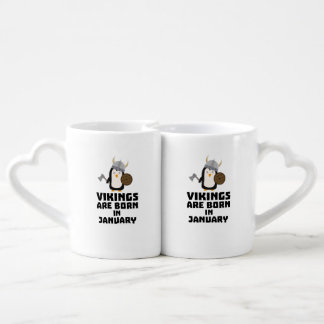 Vikings are born in January Zmwc7 Coffee Mug Set