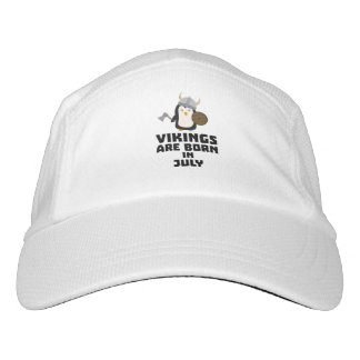 Vikings are born in July Z8p0q Headsweats Hat