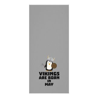 Vikings are born in May Z2o7h Rack Card