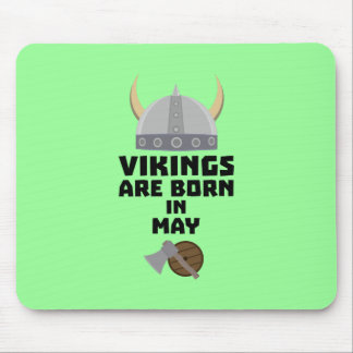 Vikings are born in May Z5w4a Mouse Pad