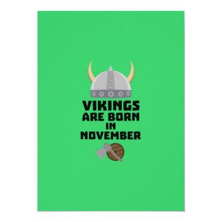 Vikings are born in November Zy53w Card