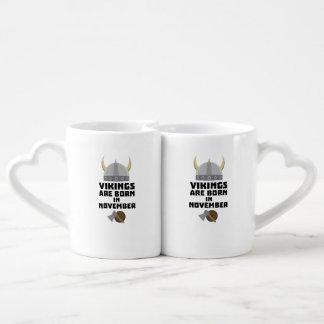 Vikings are born in November Zy53w Coffee Mug Set