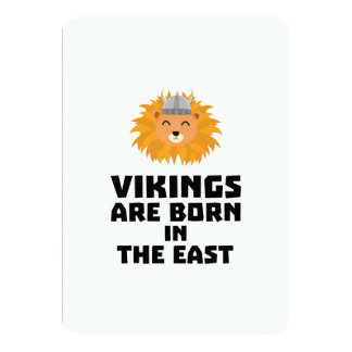 Vikings are born in the East Z37dx Card